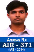 Anurag Rai AIR-371 IAS-2014