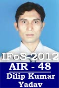 IFoS 2012 Successful Student AIR 48