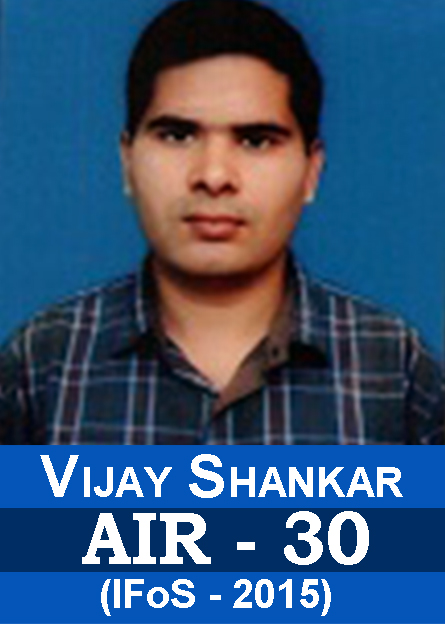 Toppers Results with Mathematics Optional IFoS-2015 Successful Student AIR-30