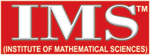 Logo of IMS-Institute of Mathematical Sciences: Mathematics Coaching for IAS,IFoS,CSIR and GATE Aspirtants