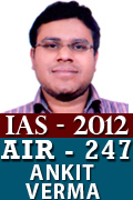 IAS 2012 Successful Student AIR 247