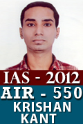 IAS 2012 Successful Student AIR 550