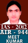 IAS 2012 Successful Student AIR 944