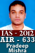 IAS 2012 Successful Student AIR 633