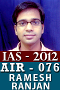 IAS 2012 Successful Student AIR 076