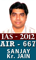 IAS 2012 Successful Student AIR 667