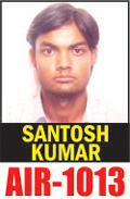 Santosh-Kumar-AIR-1013-IAS-2013