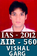 IAS 2012 Successful Student AIR 560