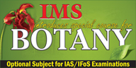 IAS IFoS botany mains optional
