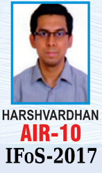 UPSC Civil Service Examination IAS-2017 Successful Student AIR-4 Topper