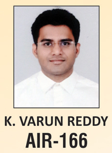 UPSC Civil Service Examination IAS-2016 Successful Student AIR-166 Topper